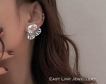 925 sterling silver butterfly earrings butterfly ear jacket earrings elegant beautiful wings earrings womens gift by East Link Jewellery