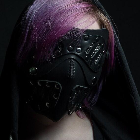 cyberpunk respirator mask