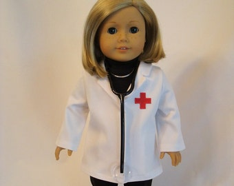 """New My Life As A Scientist Science Play Set for 18/"""" Dolls Lab Coat Jacket"""