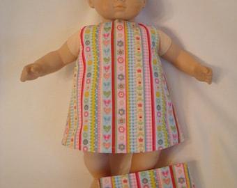 Cupcakes 2-piece Pajama Set for American Girl Doll \u2013 Doll Cupcake Flannel Pajama Pants with White Knit Pajama Top