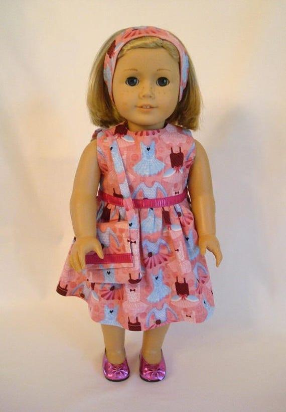 269696e37 3-Piece Ballerina Dress with Matching Purse   Headband Set for