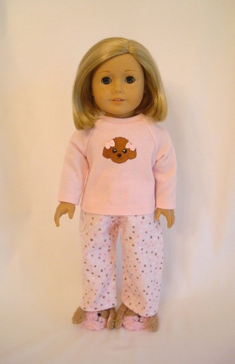 """Little poodle pant set 18/"""" doll clothes fits American Girl"""