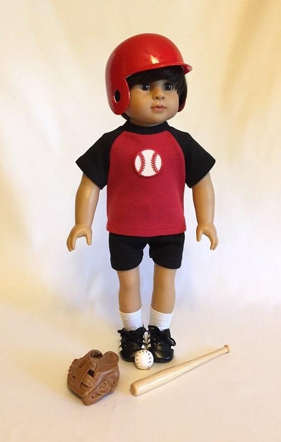 Pink Baseball//Softball Batting Helmet 18 in Doll Clothes Fits  American Girl