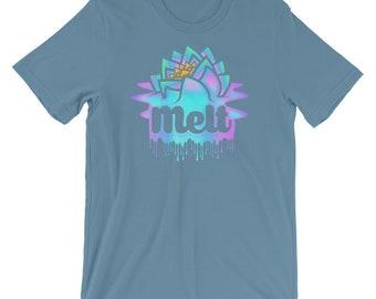 Melt Melting Logo -  Unisex T-Shirt