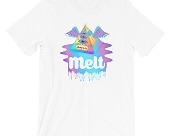 Melt Pyramid - Unisex T-Shirt
