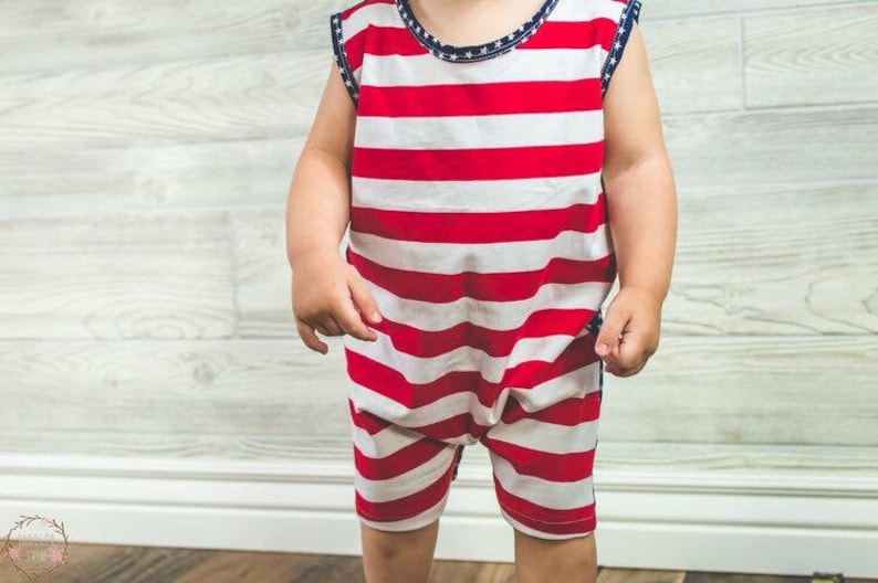 4th of July baby boy 4th of July Patriotic baby romper boy July 4th romper patriotic romper boy romper,stars and stripes baby July 4th