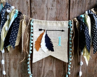 Wild One Banner Teepee Arrow Tribal First Birthday Wild Thing Garland Decor Party decor Photo Shoot Props Backdrop Cake Smash One Banner