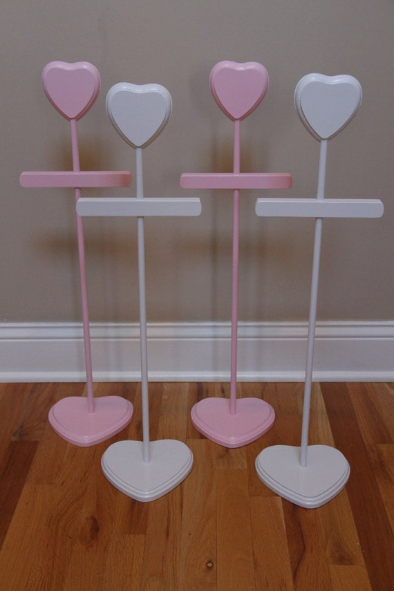 48f1bc8aa Dress Hanger Baby Shower Centerpiece Stacey Stands