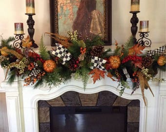 Fall Thanksgivings Garland in designer style