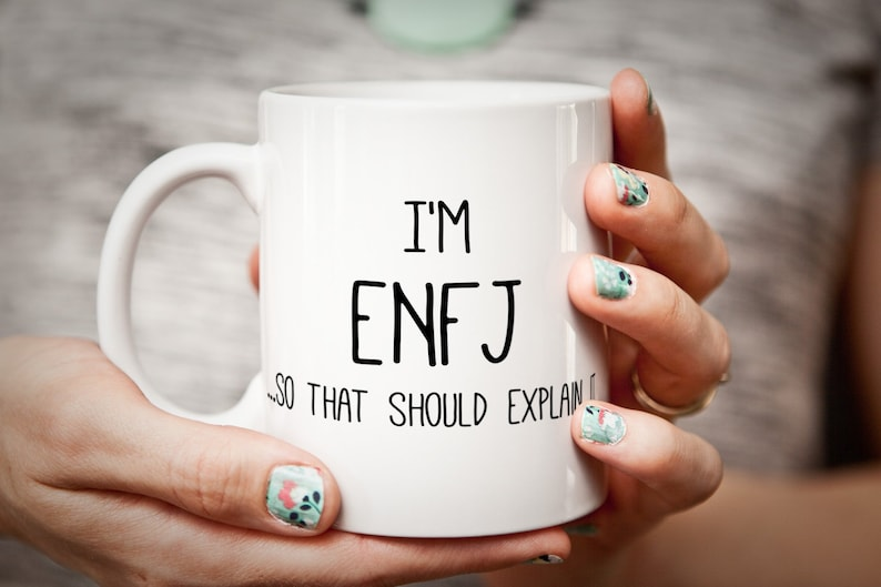 Funny Personality Type Mug - ENFJ