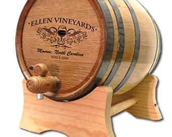 Mini Wine Barrel Etsy