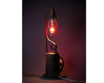 Roofing torch lamp light industrial repurposed blow torch