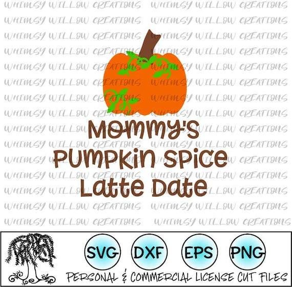 Digital Cut File Pumpkin Spice