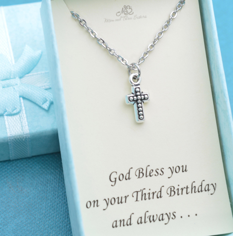 Little Boys Third Birthday Gift Jewelry