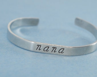 Nana Message Cuff.