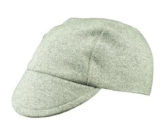 e05f198a7 Light tweed cycling cap - handmade cap  winter cap  bicycle cap  tweed cap  wool  cap  cycling clothes