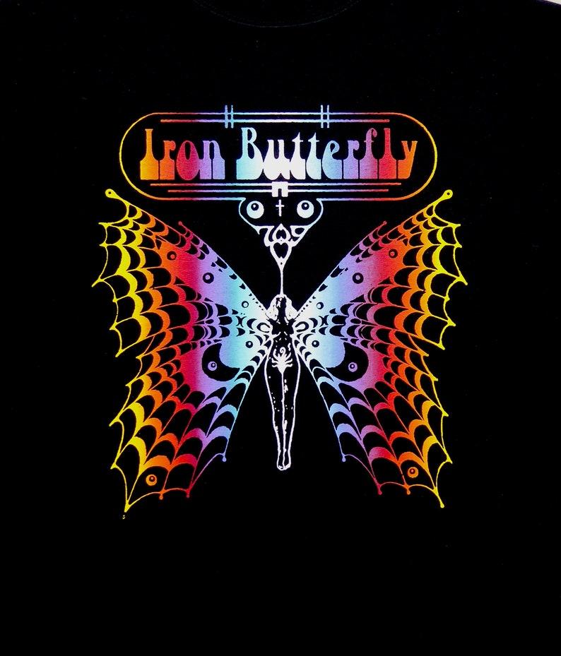 Iron Butterfly t shirt New S M L XL 2XL 3XL Gadda