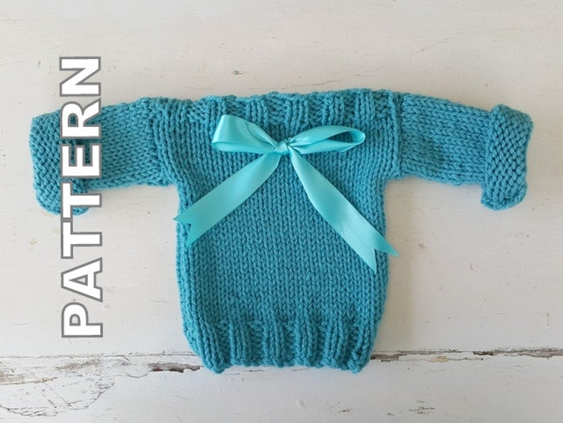 7587a5055 Easy Everyday Baby Sweater Pattern Newborn baby jumper