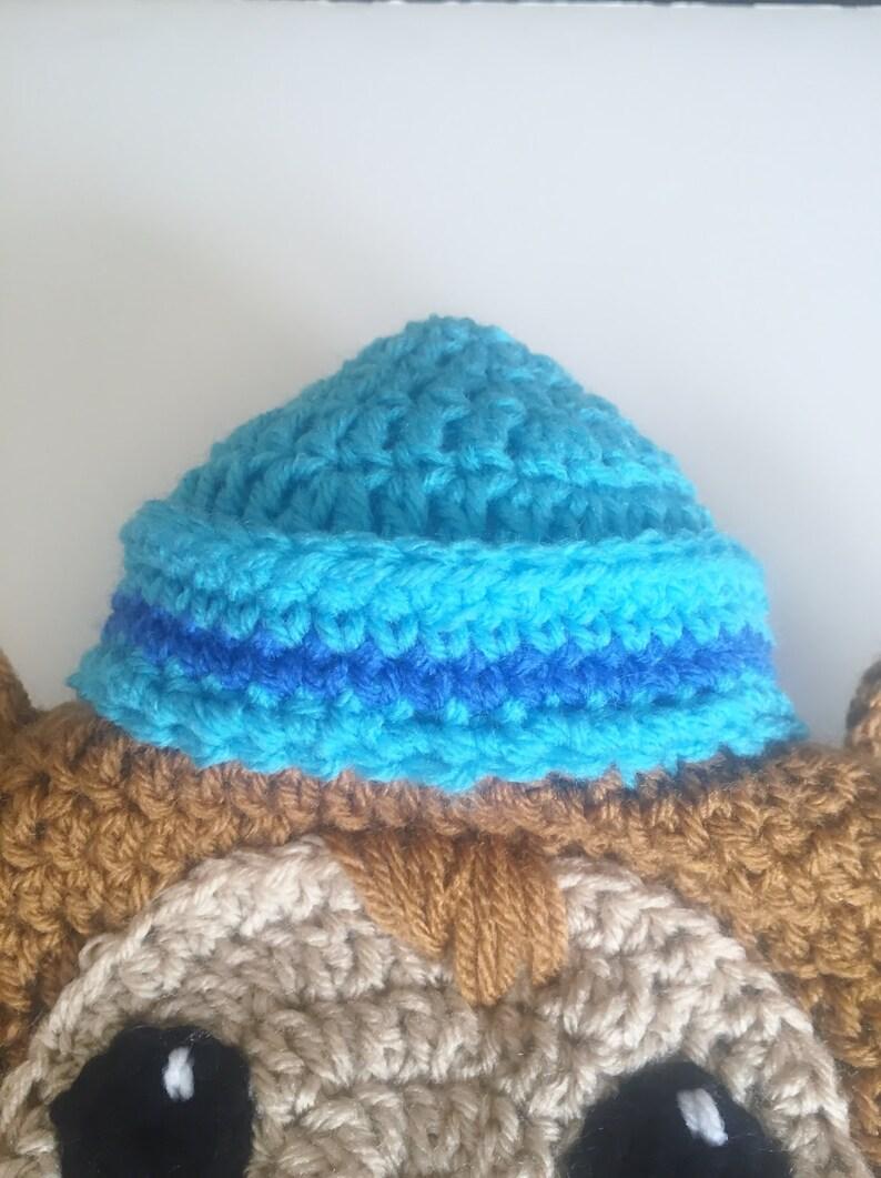 Shellington Earflap Hat Crochet Beanie