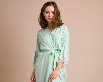 Ready to ship XS   S size AMELIA lace robe Black  1140481a4