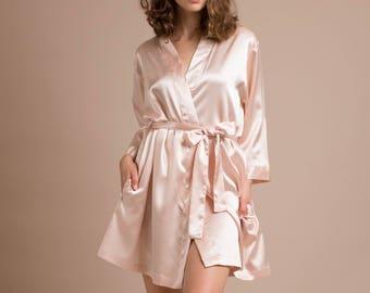 satin bridesmaid robes 390c40441