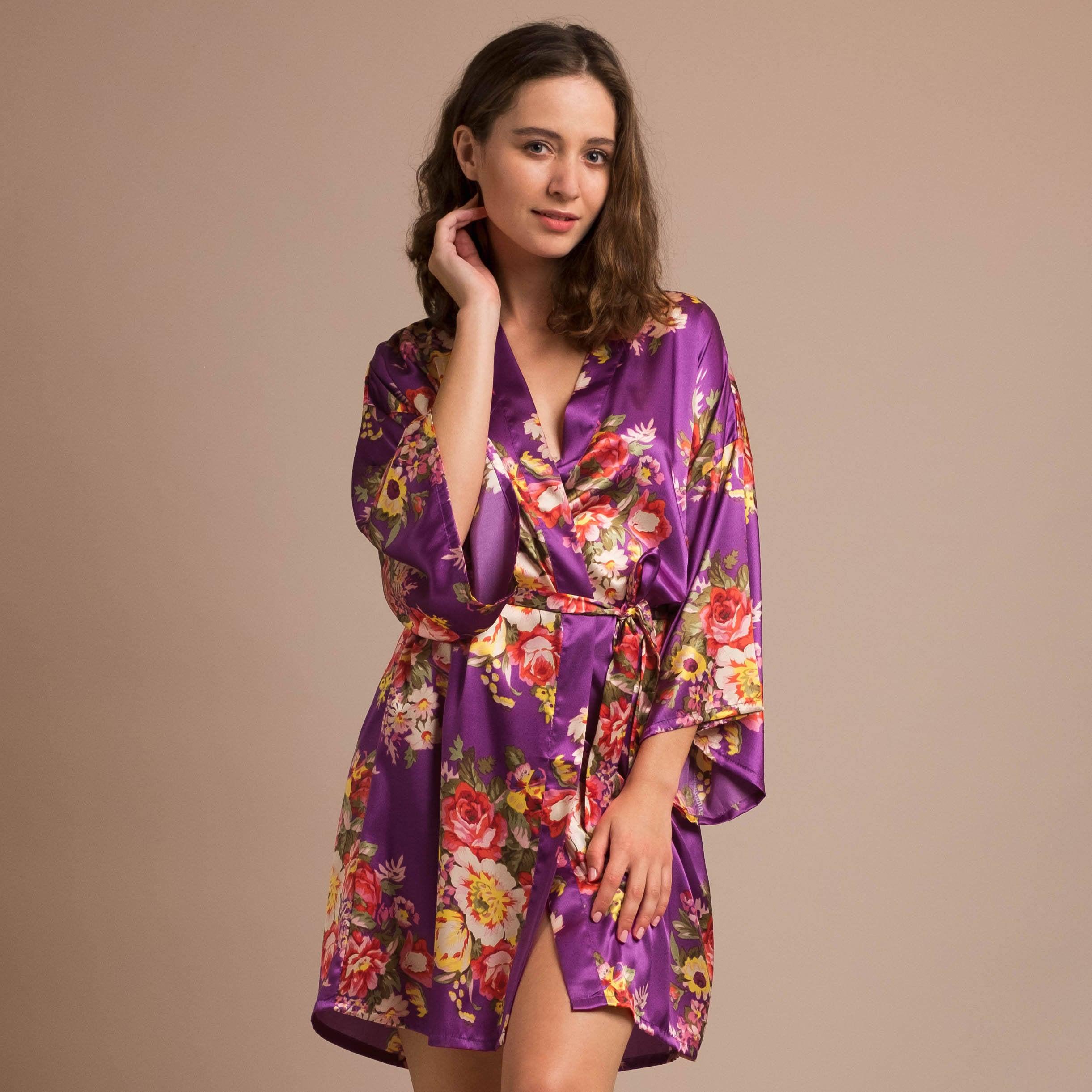 lilac bridesmaid robes - HD2442×2442