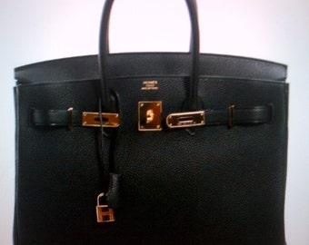 Birkin bag, leather 35cm