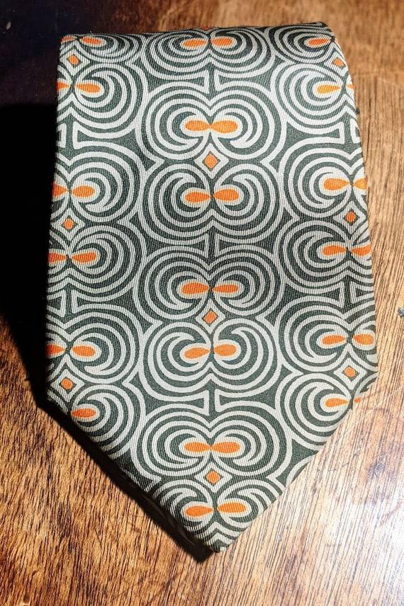 Vintage Hermes 100% Silk Necktie - image 5