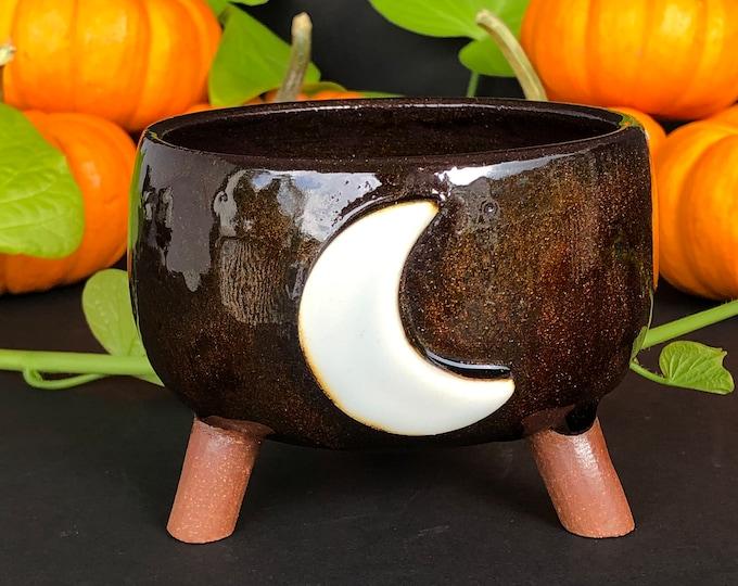 Featured listing image: Dusk crescent moon cauldron