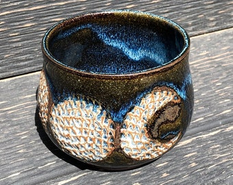 Triple Moon cauldron, moon planter, triple moon bowl
