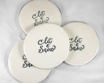 Ceramic Coasters, coatsers, Coaster set