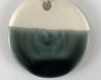 Porcelain Drop Pendant