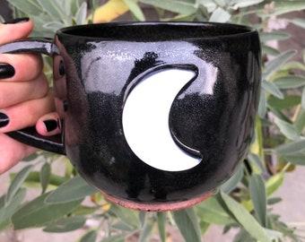 Midnight Crescent Mug