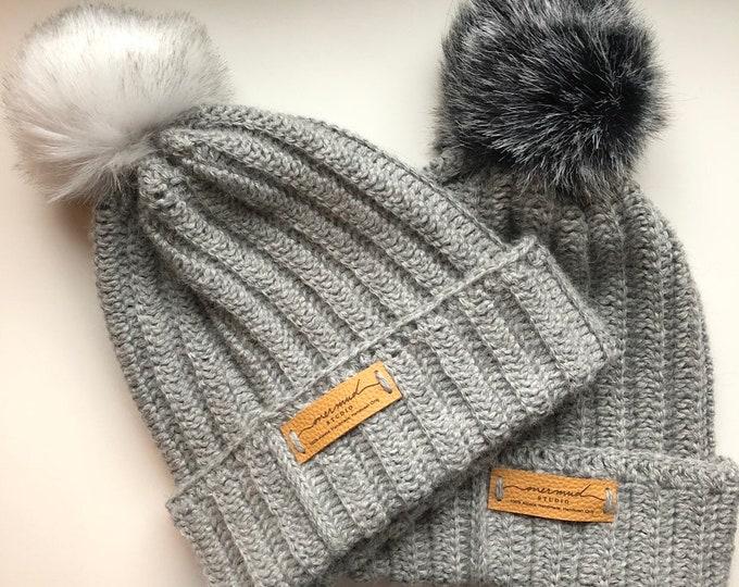 Featured listing image: Handmade Alpaca Hat, Handmade Beanie
