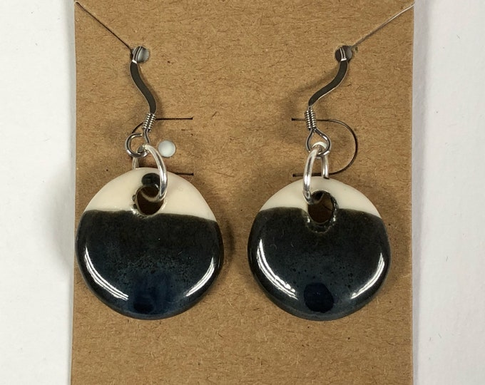 Featured listing image: Porcelain Drop Earrings