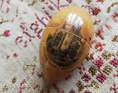 Antique Mauchline thimble egg, Admiralty Pier, Dover