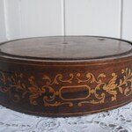 Antique wooden plinth display stand
