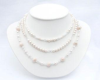 Understated Mulit Strand Necklace