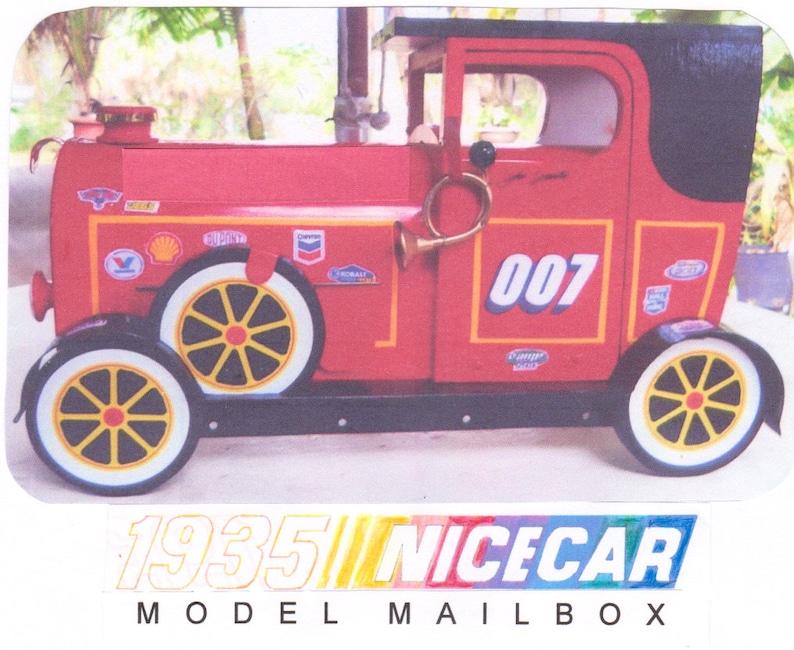 NICECAR MAILBOX