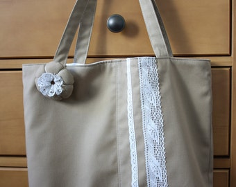 SALE Shabby Chic Tote Bag