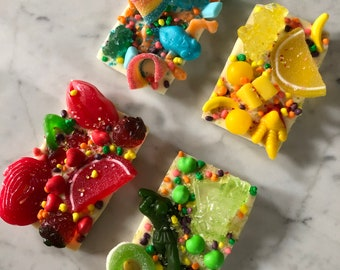 SO Extra!! Set of 4 Candy Land Candy Bars Collector Set