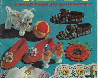 PDF 1963 Jiffy Gifts Crochet Ideas for your Bazaar Crochet Patterns, Non-Profit Shop