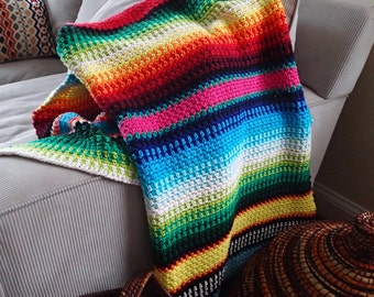 Peaceful Siesta Blanket Crochet Pattern, PDF Instant Download, Non-Profit Shop, Baby, Child, Wheelchair, Yoga, and Afghan Throw Sizes