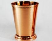 12 oz copper Mint Julep cup