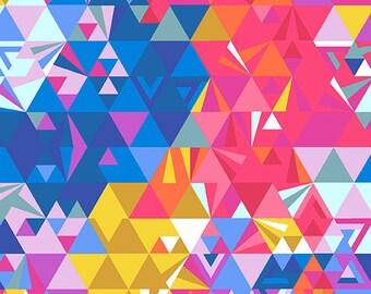 Ex Libris - Geometry in Sunset - Alison Glass - Andover (7867-LP)