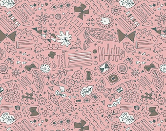 SALE Sketchbook - Doodlie Playful - Sharon Holland - Art Gallery Fabrics (SBK-37203)