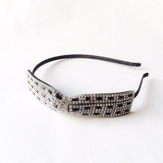 CLEARANCE Ingrid Rhinestone Bow Headband Party headband  9a249d2b758