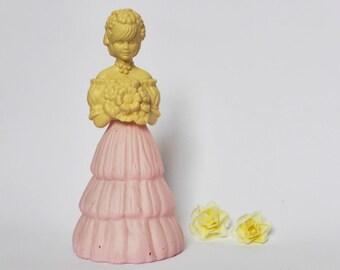 Garden Girl Avon Perfume Bottle ~ Pretty ~ Bridesmaid ~ Cottage Chic ~ Vintage Bedroom Decor ~ 1970s Fragrance ~ Boudoir ~ Dressing Table