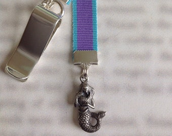 Silver Charm Bookmarks
