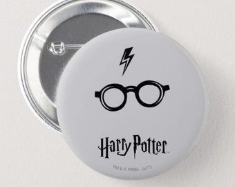 Harry Potter Button / Cute Book Lover Pin / Pinback Button